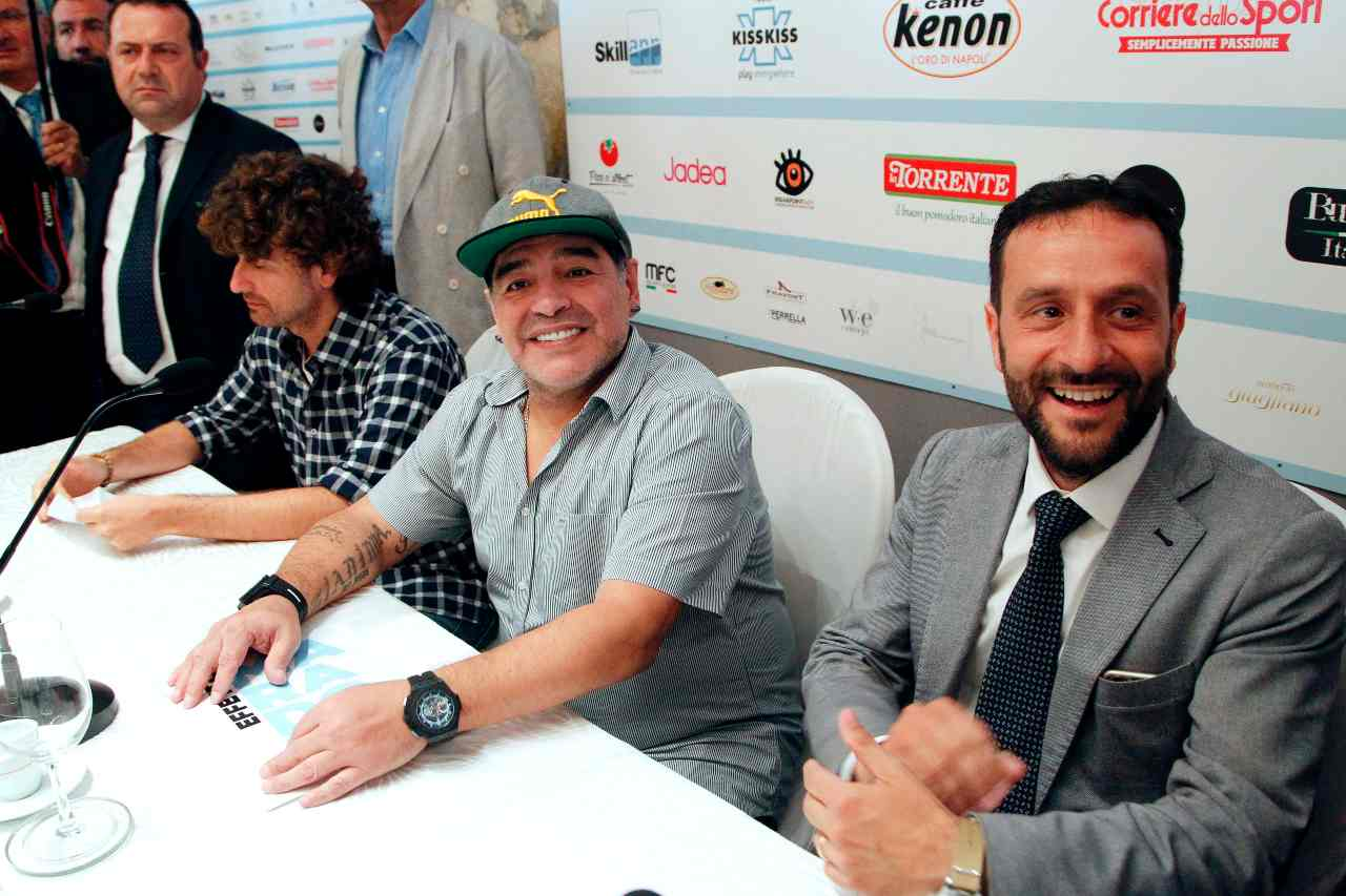 Borriello-Maradona