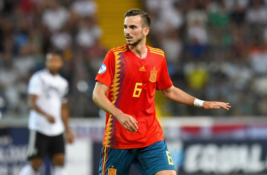 UDINE, ITALY - JUNE 30:  Fabián Ruiz of Spain  looks on during the 2019 UEFA U-21 Final between Spain and Germanyat Stadio Friuli on June 30, 2019 in Udine, Italy.  (Photo by Alessandro Sabattini/Getty Images)