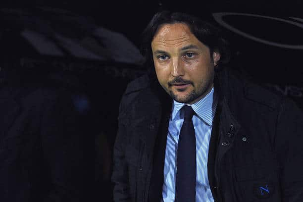 PARMA, ITALY - MARCH 13:  SSC Napoli head coach substitute Nicolo Frustalupi looks on prior to the Serie A match between Parma FC and SSC Napoli at Stadio Ennio Tardini on March 13, 2011 in Parma, Italy.  (Photo by Valerio Pennicino/Getty Images)