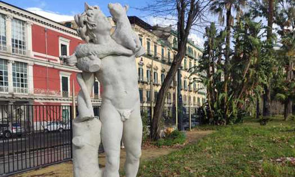 statua-fauno-villa