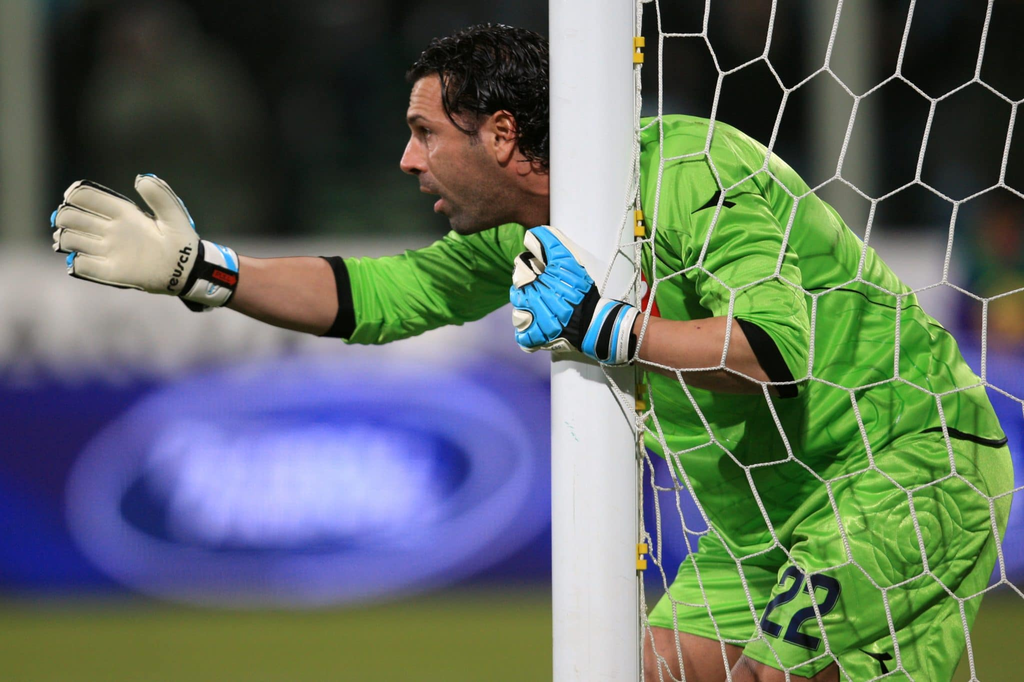 Matteo Gianello, Napoli goalkeeper  (Photo by Adam Davy - PA Images via Getty Images)