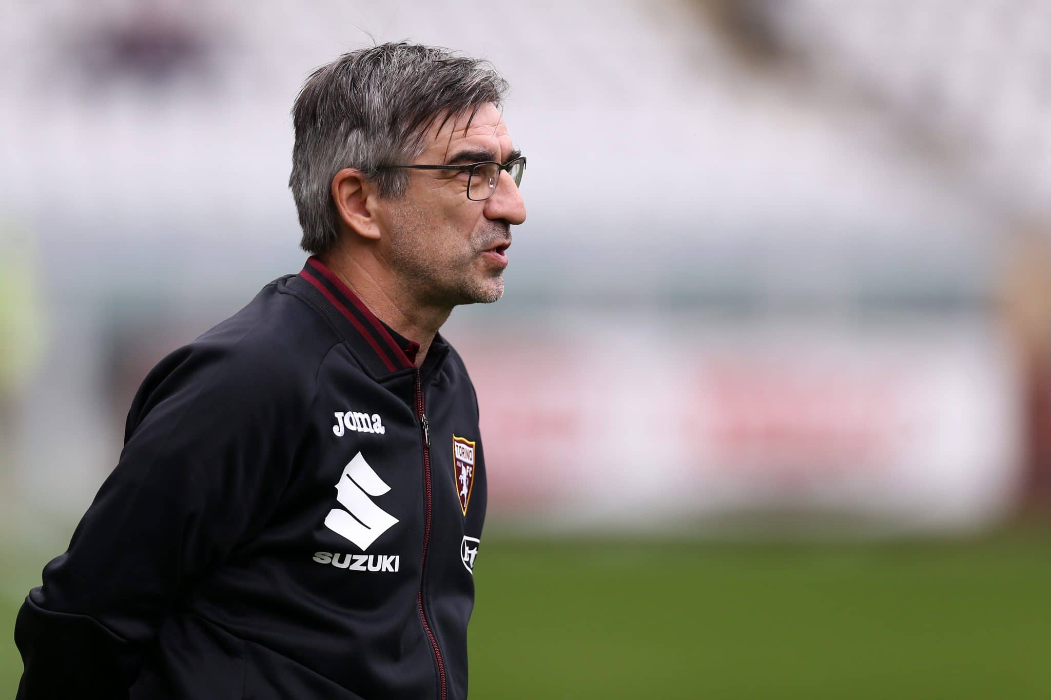 STADIO OLIMPICO, TORINO, ITALY - 2021/10/02: Ivan Juric, head coach of Torino Fc , looks on during the Serie A match between Torino Fc and Juventus Fc. Juventus fc wins 1-0 over Torino Fc. (Photo by Marco Canoniero/LightRocket via Getty Images)